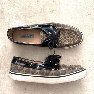 Sperry Leopard Prints Loafers Moccasins Shoes